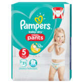 Pampers Baby Dry - Culottes Pants - Taille T5 - X21