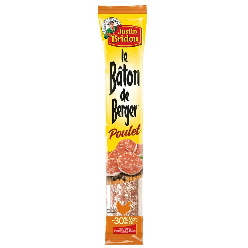 Justin Bridou Bâton de Berger poulet le saucisson de 160 g