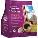 CASINO Dosettes de café pur arabica Ethiopie x18