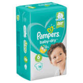 Pampers Babydry - Couches - Taille 6 - X19