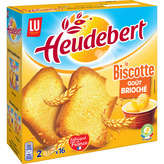 LU Lu Heudebert - Goût Brioché - Biscottes - 290g