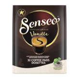 Maison du Café Senseo Café Dosette Senseo - Saveur Vanille - X32 - 222g
