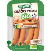 Stoeffler Knacks D'alsace - Biologique - 160g