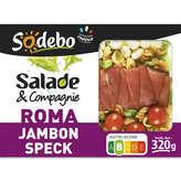 Sodeb'O SODEBO Salade pates crudités jambon speck - 320g