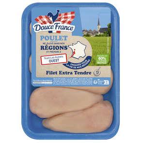 Filet de poulet blanc extra moelleux - x6