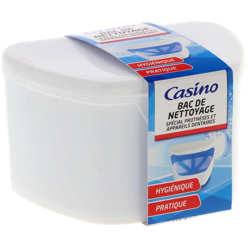 Bac de nettoyage - Spécial prothèses et appareils den...