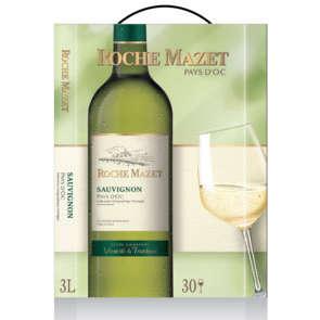 Sauvignon - Vin de Pays d'Oc - Roche Mazet - Vin blanc