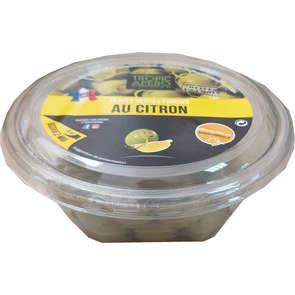 Olives vertes farcies à la pulpe de citron