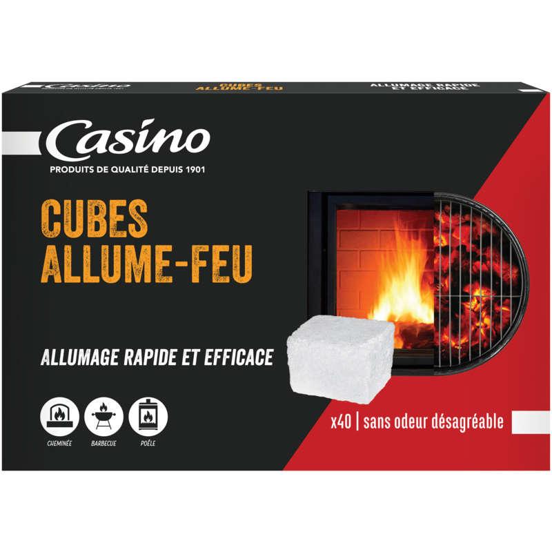 Cubes allume-feu - Paraffine