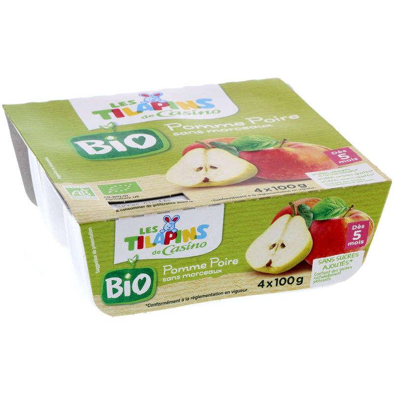 Dessert de fruits pour Bébé - Pomme Poire s...