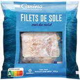 CASINO Filets de sol - Atlantique Nord-Est 275g