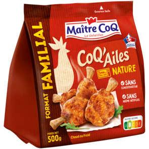 Coq'ailes nature - 3 à 4 personnes