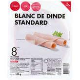 Blanc de dinde standard - 8 tranches