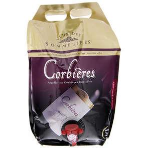 Corbières  - Languedoc rouge - Alc 13%vol. - Vin rouge