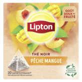 Lipton LIPTON Thé pêche mangue - x20