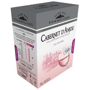 Cabernet d'Anjou rosé - Loire - Alc 12%vol. - Vin rosé