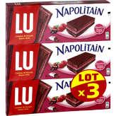LU Lu Napolitain Chocolat Framboise - 3x174g