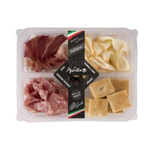 Aperitiv'O Italiano - Speck, Saucisson Parma, Scamorza affumicata, Foccacia, Olives