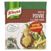Knorr Sauce Au Poivre À La Crème Fraîche - 3