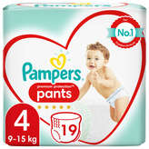 Pampers Active Fit - Couches - Taille 4 - X19