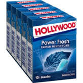 Hollywood HOLLYWOOD Power fresh - Chewing-gum menthe forte sans suvres... - 70g