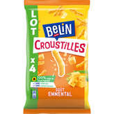 Belin Croustille Emmental - 4x138g
