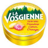 La Vosgienne LA VOSGIENNE Bonbon - Parfum framboise, citron, orange - 125g