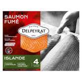 Delpeyrat Saumon Fumé - Islande - 130g