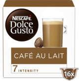 Nescafé NESCAFE DOLCE GUSTO Café au Lait - Robusta - 16 Capsules Pla... - x16