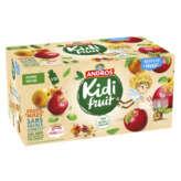 Andros Kidi Fruit - Compote - Pomme Nature - En Gourde - 18x85g