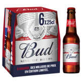 Bud King Of Beers - Bière - 6x25cl
