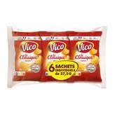 Vico VICO Classique - Chips nature - 6 sachets - 6x27,5g