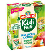Andros ANDROS Kidi Fruit - Gourdes fruits mixés - Pomme - 4x85g