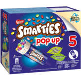 Smarties Nestle  - Pop Up - Glace Vanille Bonbons Chocolat Au... - 5x85 Ml