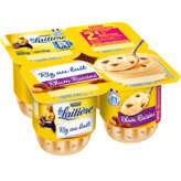 Nestlé NESTLE La laitière - Riz au lait - Rhum raisins - Yaourt - 4x115g