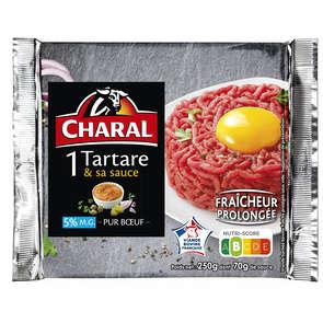 Tartare et sa sauce - Steak haché - 5% mg - x1