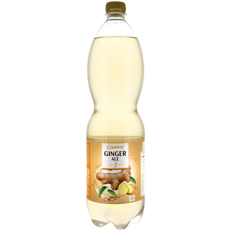CASINO Boisson - Saveur ginger ale