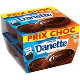 Danone Danone Danette - Dessert - Chocolat Noir - 8x125g