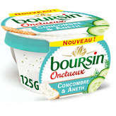 Boursin Fromage - Concombre Et Aneth - 125g