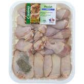Morceaux de poulet blanc
