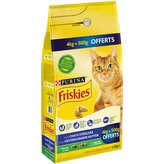 Friskies PURINA Friskies - Croquettes pour chats stérilisés - Agneau - 4,5kg