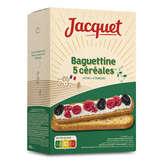 Jacquet baguettine 5 céréales 300g Envoi Rapide Et Soignée ( Prix Par Unité )