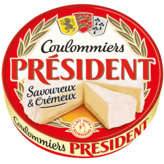 Président PRESIDENT Coulommiers - Fromage - 350g