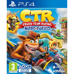 Jeu PS4 Crash Team Racing
