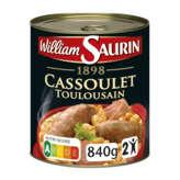 William Saurin Cassoulet 840g(envoi rapide et Soignée)
