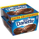 Danone Danette - Crème dessert au chocolat les 8 pots de 125 g
