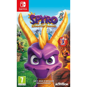 Jeu SWITCH Spyro Reignited Trilogy