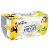Nestlé NESTLE Douceur de yaourt - Citron - 4 pots - 4x120g
