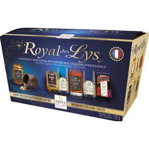 Chocolats liqueurs assorties royal de lys ABTEY ballotin x18 220g
