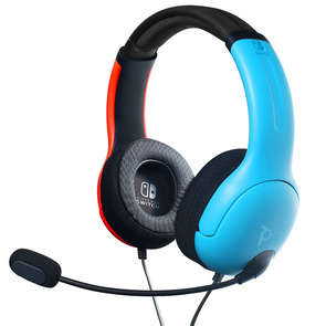 Casque gaming bleu LVL40 - Switch